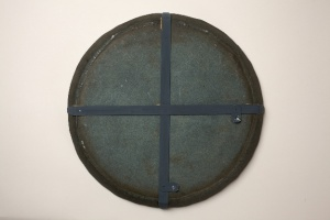 Japanned ware circular mould