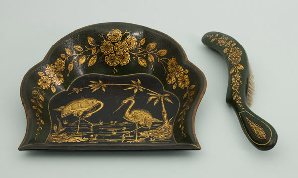 Japanned Ware Crumb Tray