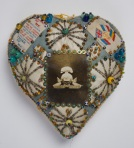 Heart pin cushion, 1914-1918